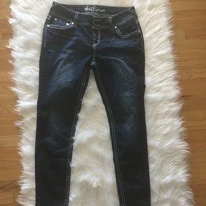 Wallflower Jeans sequins pocket size 13